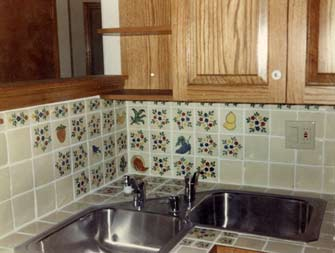 Talavera tile decor